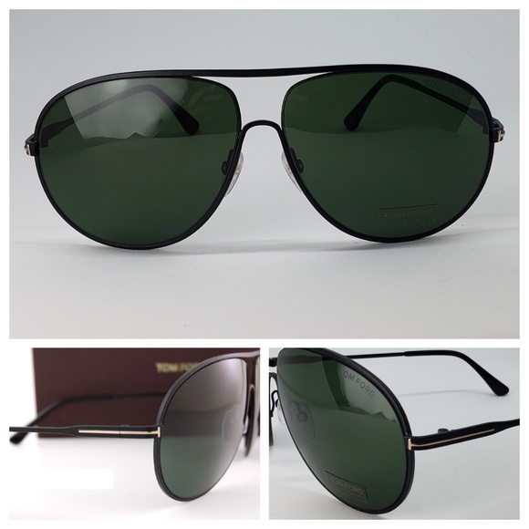 161f80f20a Tom Ford Unisex Sunglasses Matte Black Frame